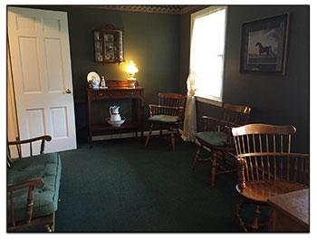Clergy Room at Brookfield Funeral Home
